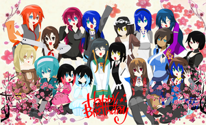 Happy Brithday ErzaScarletfan1 by YakumoSoulQueen