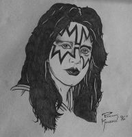 Ace Frehley Coin Art by Mr-Mordacious