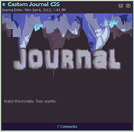 Cave Journal Skin by StickFigureQueen