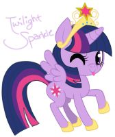 Twilight Sparkle Contest Entry uwu by AleshaTheFox