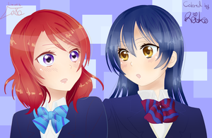 Maki Umi collab by TheLako