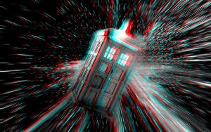 The TARDIS... In 3D by homerjk85