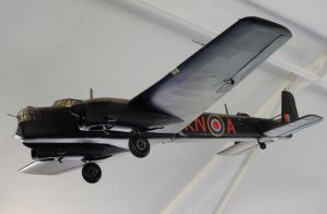 Armstrong Whitworth AW.38 Whitley Model by rlkitterman
