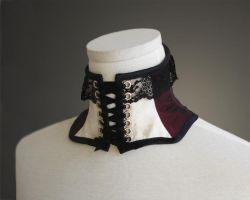 Catherine Corset Collar by Trinitynavar