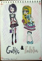 Gothic and Lolita by Koprone