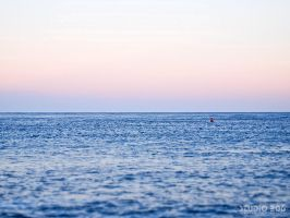 Red Buoy by PhotographybyVictor