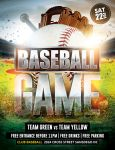Baseball Game Flyer by Dilanr