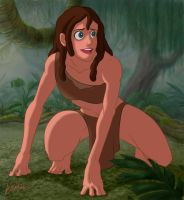 Successor Tarzan by angelwingkitty