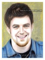 Lee DeWyze drawing by xnicoley