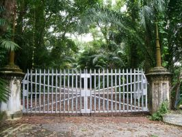 Botanical Garden: Gate: by khai666
