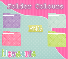 Folders Colours by IloveCute1220