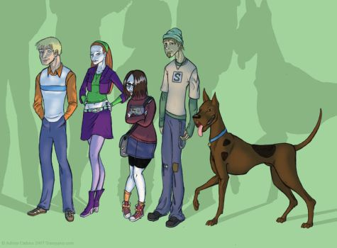Scooby-Doo, Where are you? by Transypoo