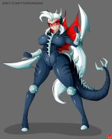 GIGAN KAIJU GIRL by Witchking00