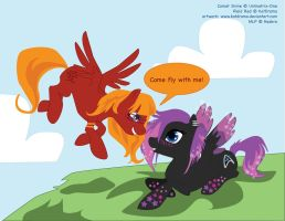 MLP Come Fly With Me by PlaidRed