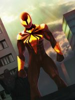 Iron Spider-Man by Rueprez