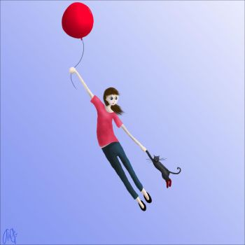 The Red Balloon Adventure by inkolor