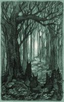 Wild Forest by bouquiniste