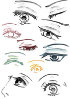 Eye Practice by MindlessFrappe