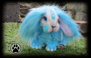 SOLDAsper the cloud hopper mini lop bunny artdoll! by CreaturesofNat