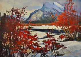 Rundle Through The Red Osier by artistwilder