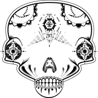 Skull-Illustrator-Andrew-Wright by andrewgwright