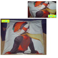Sweet Dreams With The Megaman Zero Pillow by Kushell