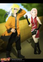 Request: NaruSaku all grown up by zal-sanity