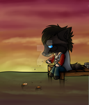 Time to Myself YCH FINISHED by galianogangster