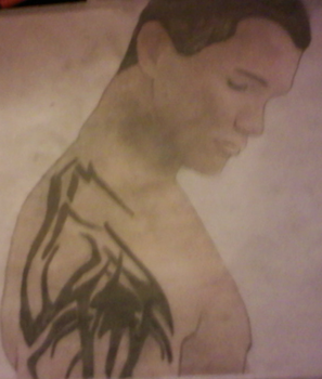 Randy Orton Drawing by llamaslikepepsi