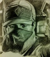 Aiden Pearce by migz7