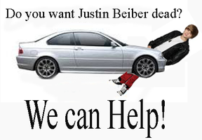 WE WANT JUSTIN BEIBER DEAD by Cleafesphere