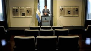 Every Morning Goverment Press Conference by DingoPatagonico