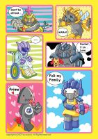 transformers family by wcomix
