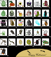 Giant Halloween Egg/Mystery Batch CLOSED by FantiaFantasyStories