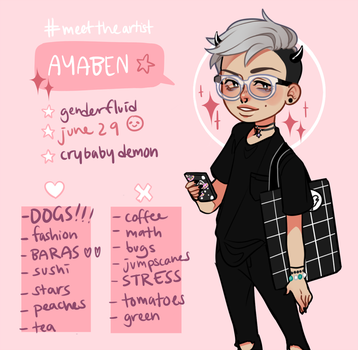 meet the artist by ayaben