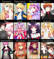 2014's ART Summery by Haru-Tchi