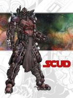 Star Wars Bounty Hunter SCUD by shumworld