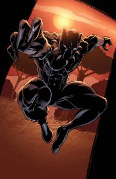Black Panther by DashMartin