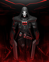 Overwatch - Reaper by FotusKnight