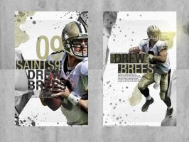 Drew Brees by RG04