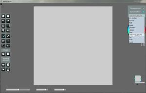 SpeedyPainter interface: Brush selection by speedy-painter