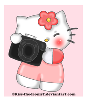 Snap Shot Hello Kitty by Kiss-the-Iconist