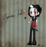 Chibi Sweeny Todd by TheAwesomeNordics
