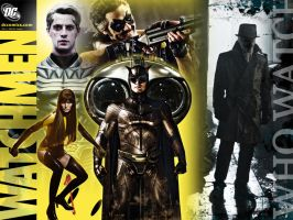 Watchmen Wallpaper by thedaisycutter