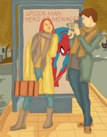 Peter and Mary Jane and photography by annabanana713