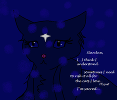 Random Bluestar thing CRITIC THIS PLEASE!!! by Shadowwolf66667