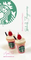 Clay Starbucks Strawberries and Cream by AgentRose