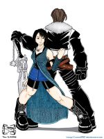 Rinoa and Squall by squall95