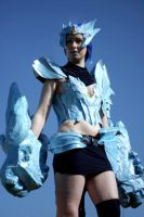 Ice Drake Shyvana- In blue by SwordofNyx