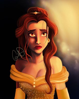Belle-   Beauty and the Beast by Chtitexxpeste